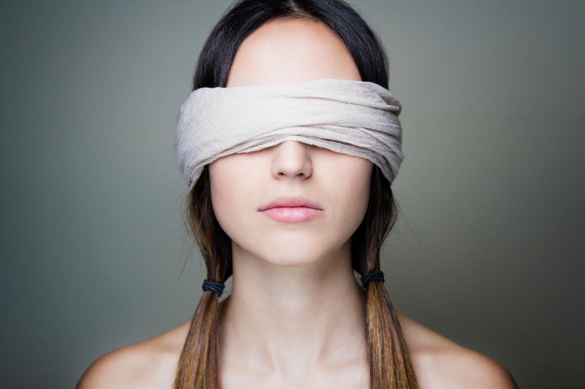Blindfold Eyes Words